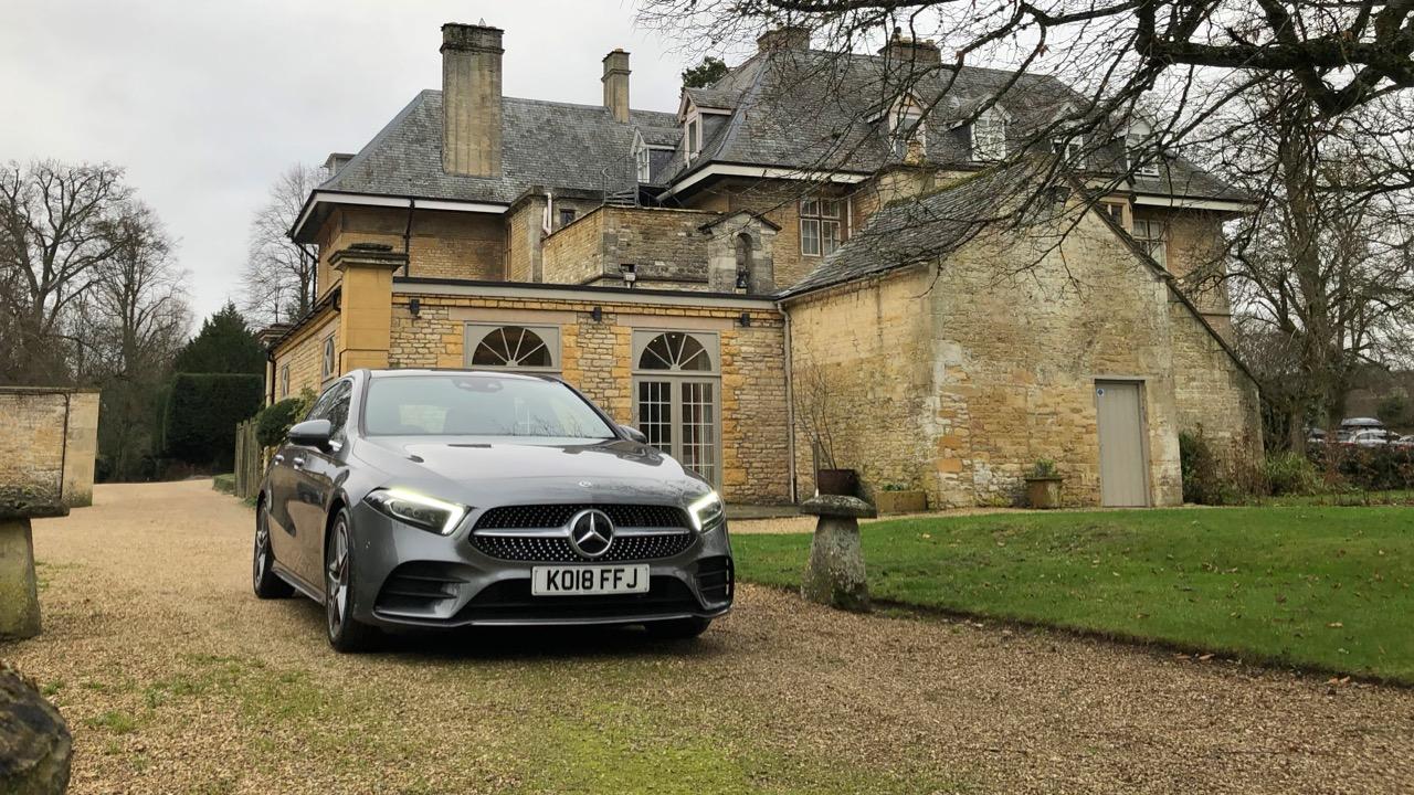 2019 Mercedes-Benz A200 Mountain Grey front end