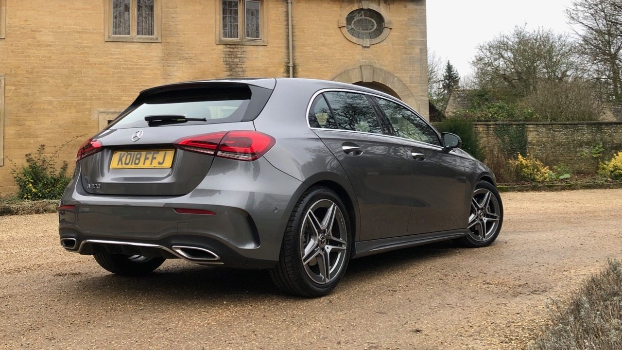2019 Mercedes-Benz A200 Mountain Grey rear end