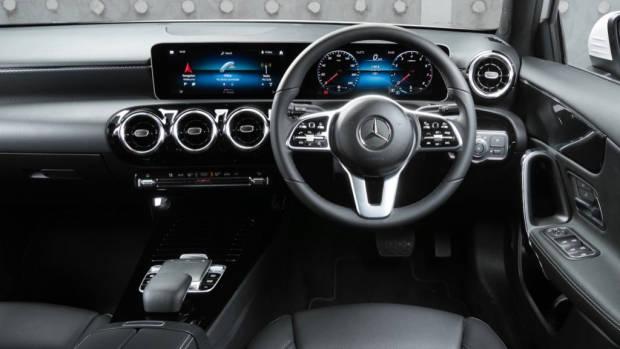 2019 Mercedes-Benz A200 black Artico interior