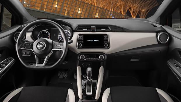 2019 Nissan Micra dashboard