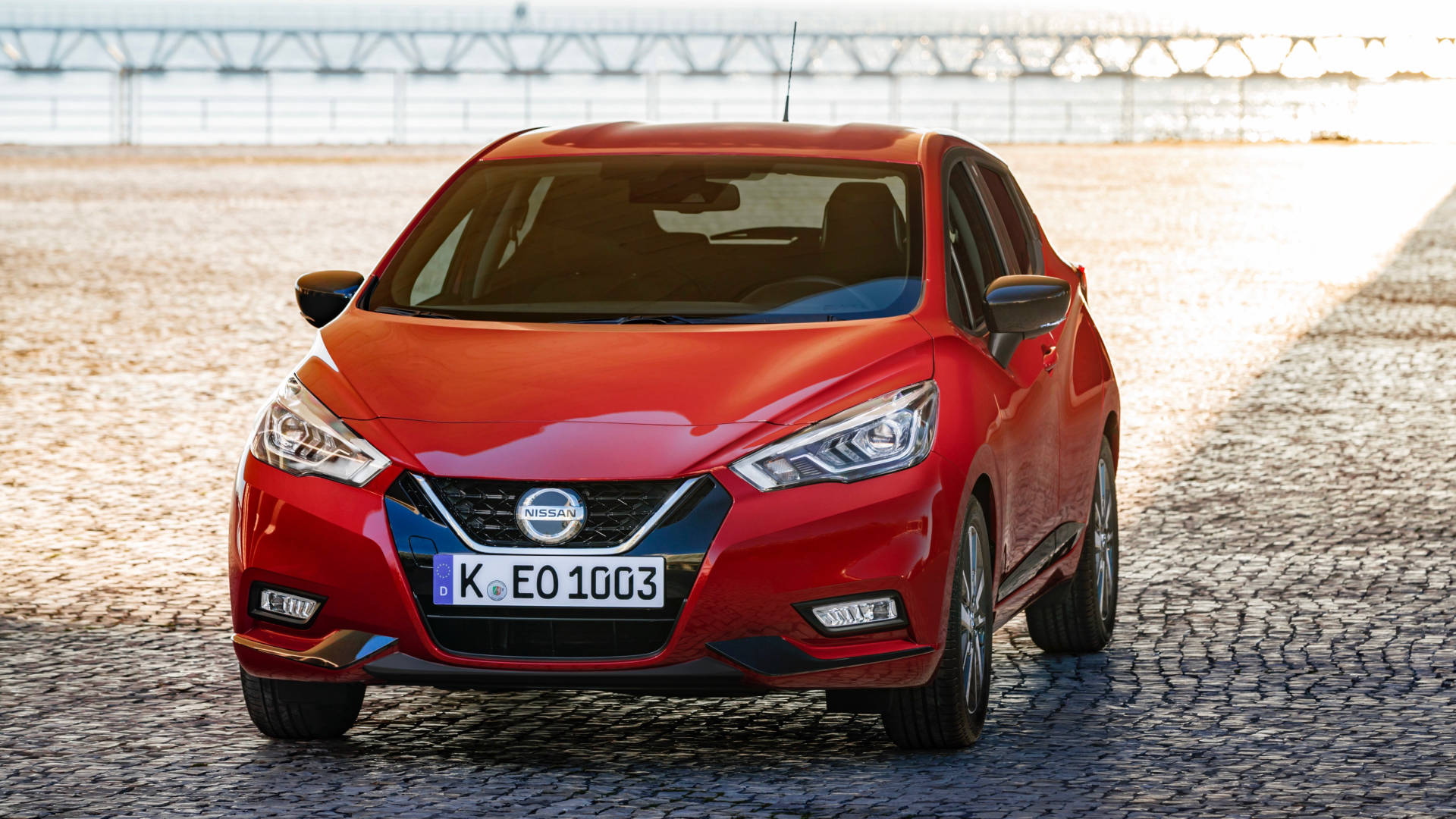 2019 Nissan Micra front 3/4