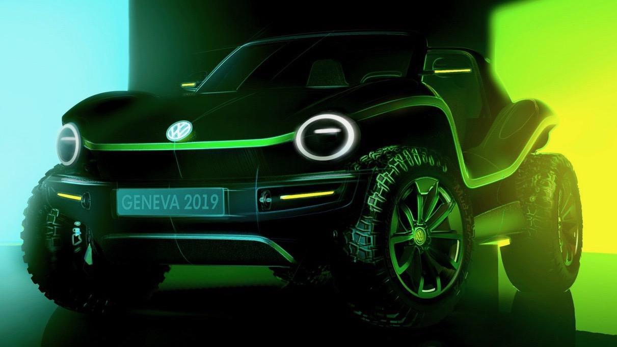 2019 Volkswagen Dune Buggy detail front