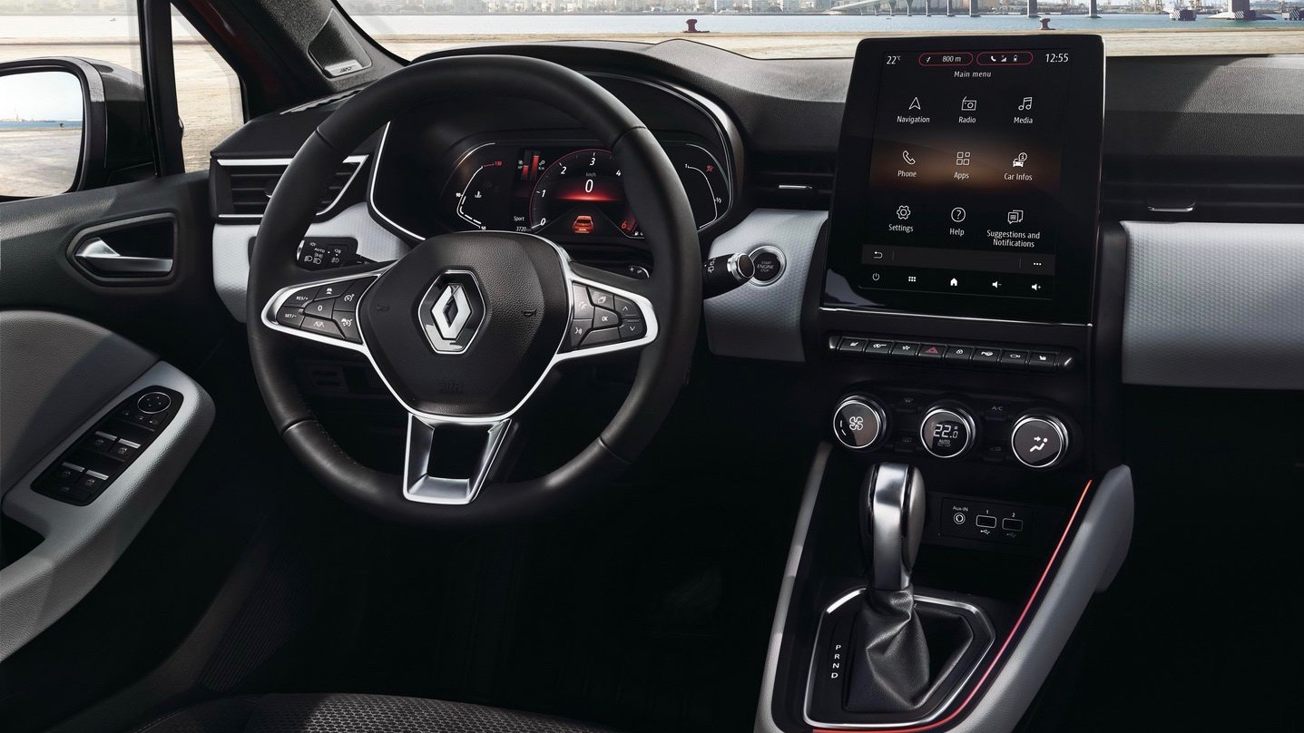 2020 Renault Clio dashboard front