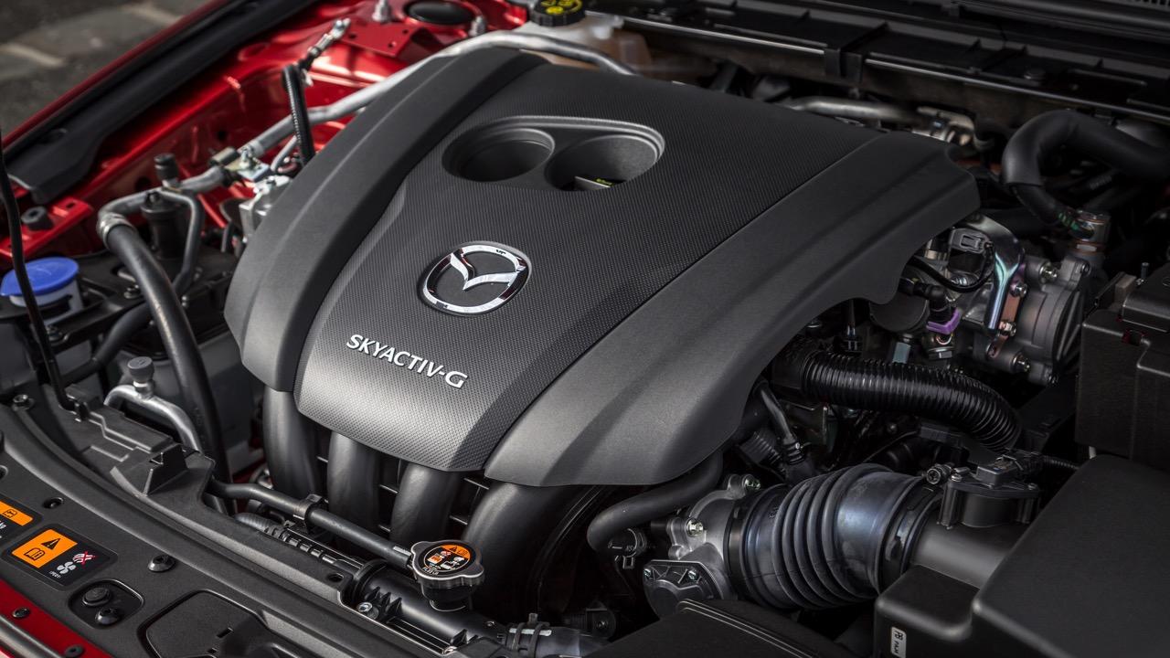 2019 Mazda 3 Skyactiv G 2.5L engine