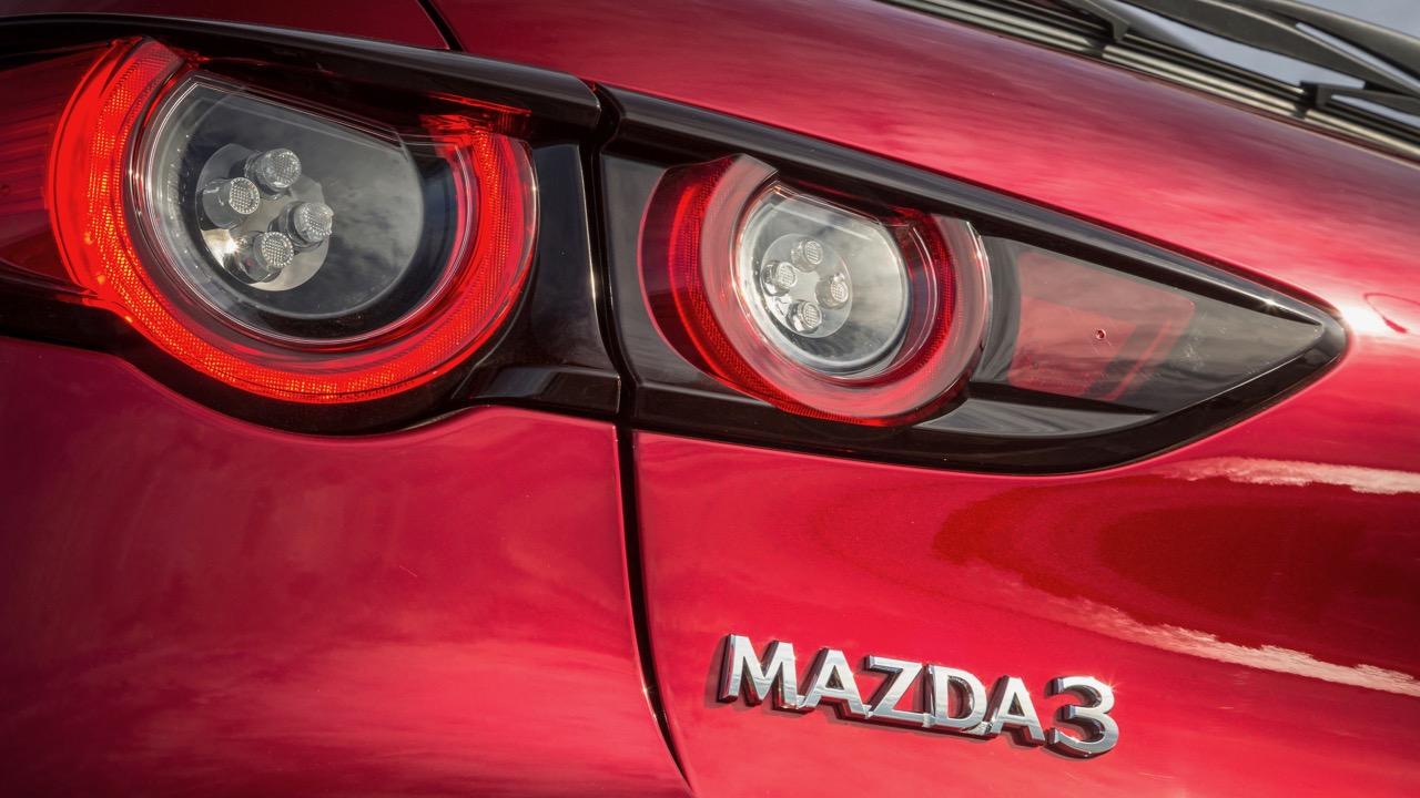 2019 Mazda 3 hatch badge