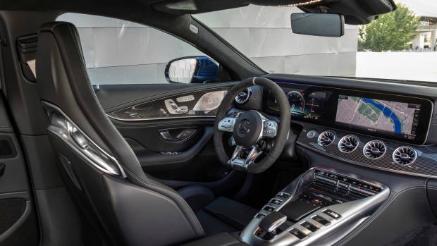 2019 Mercedes-AMG GT 4-Door dashboard