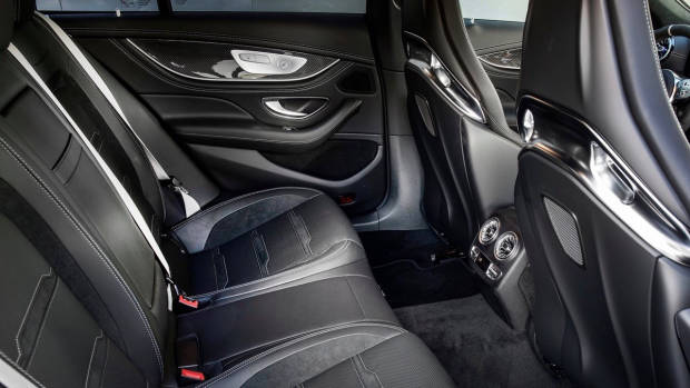 2019 Mercedes-AMG GT 4-Door rear seat