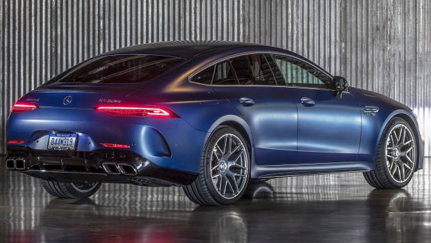 2019 Mercedes-AMG GT 4-Door rear