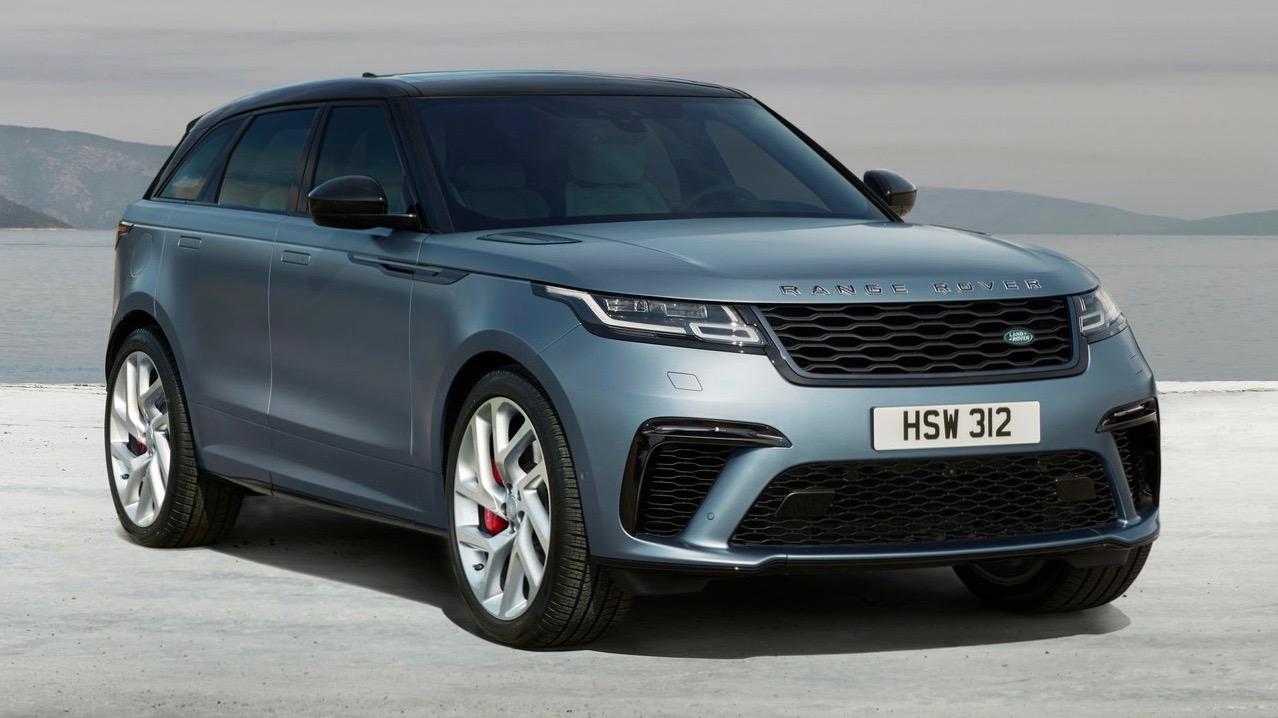 2019 Range Rover Velar SVAutobiography Dynamic Edition front 3/4