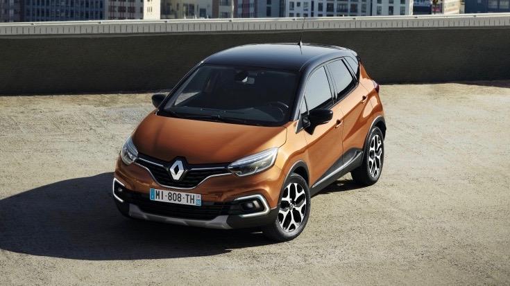 2019 Renault Captur front 3/4
