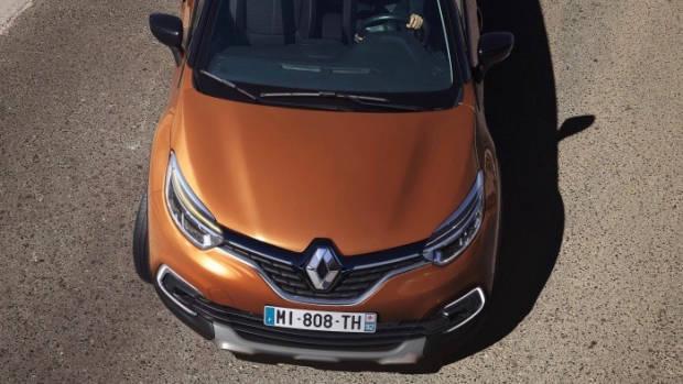 2019 Renault Captur front top