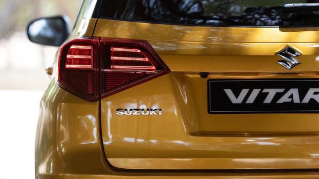 2019 Suzuki Vitara rear