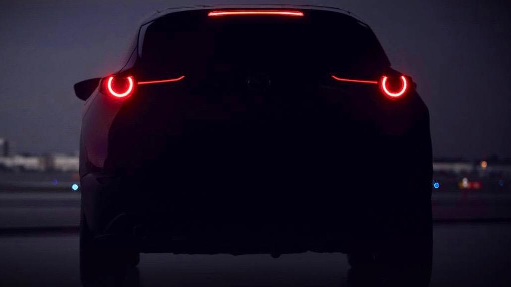 2020 Mazda SUV teaser