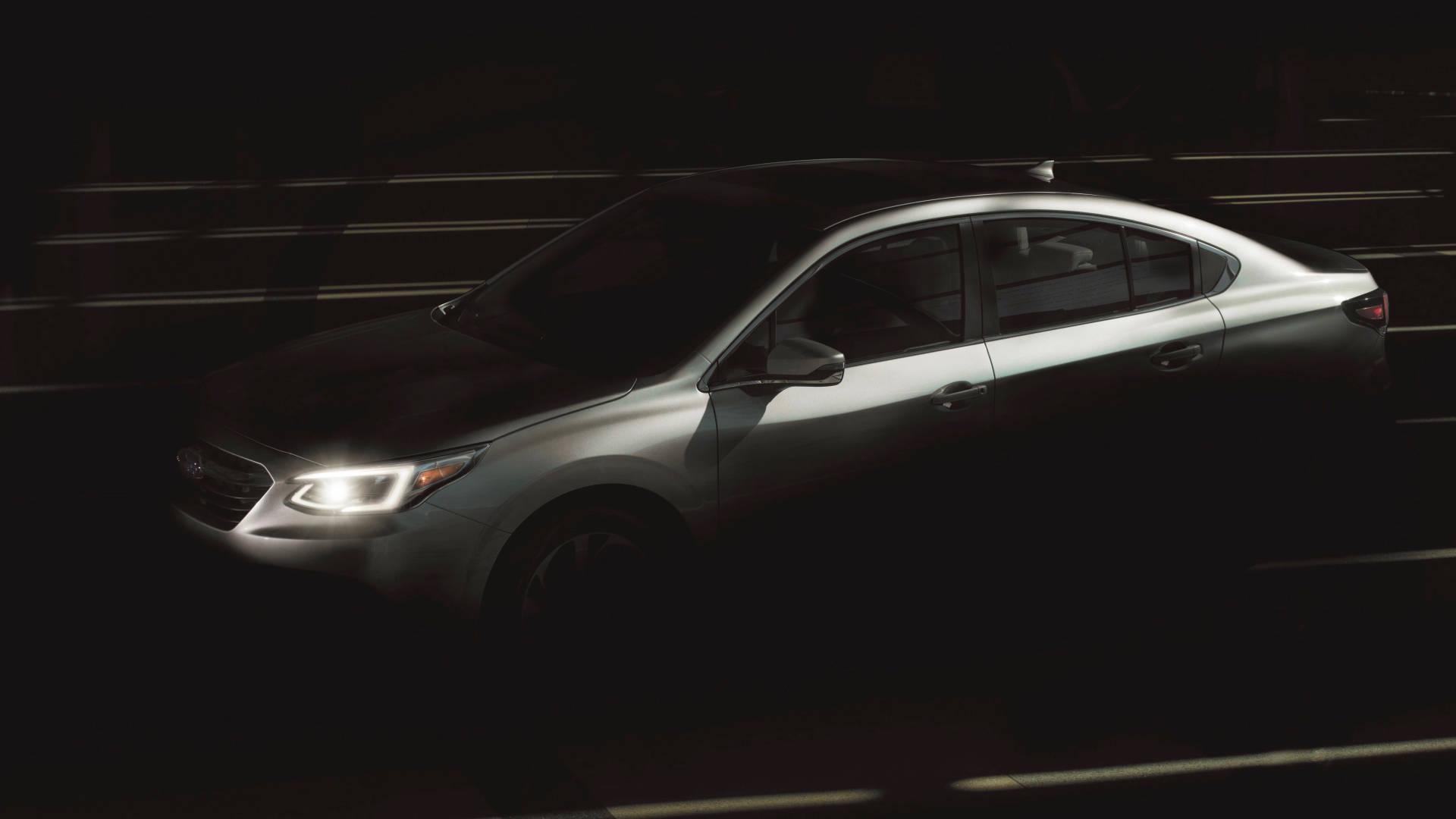 2020 Subaru Liberty exterior tease
