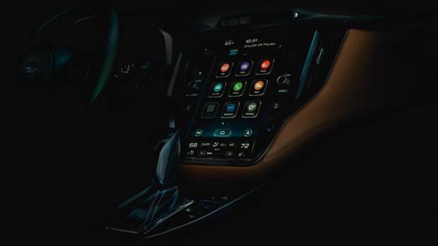 2020 Subaru Liberty infotainment