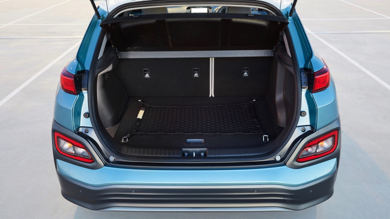 2019 Hyundai Kona Electric boot space