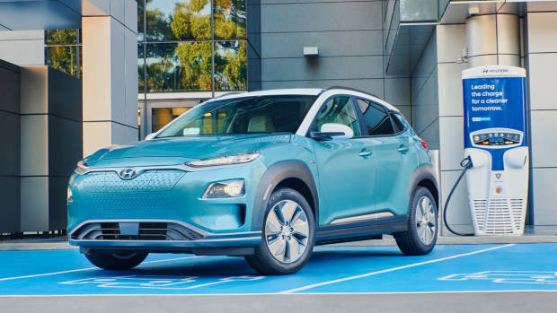 2019 Hyundai Kona Electric charging