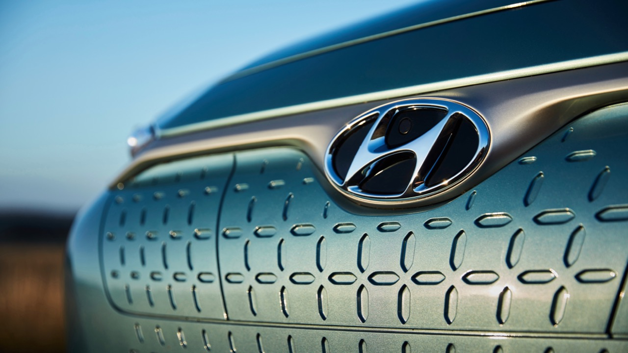 2019 Hyundai Kona Electric grille