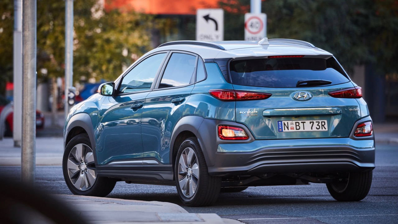 2019 Hyundai Kona Electric rear front