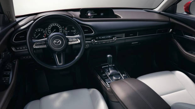 2020 Mazda CX-30 Interior White Leather