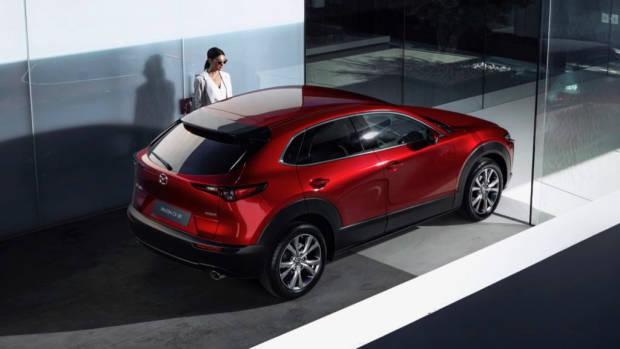 2020 Mazda CX-30 Rear Profile