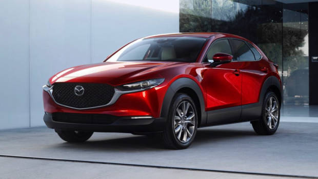 2020 Mazda CX-30 Soul Red Crystal Front