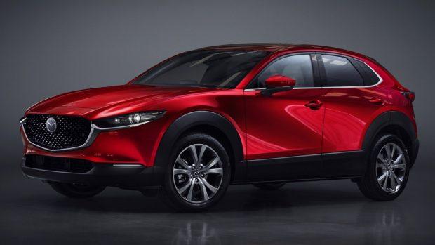 2020 Mazda CX-30 Soul Red Crystal Front Quarter