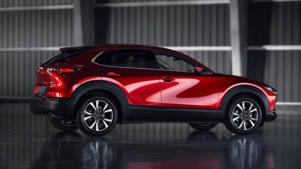 2020 Mazda CX-30 Soul Red Crystal Profile