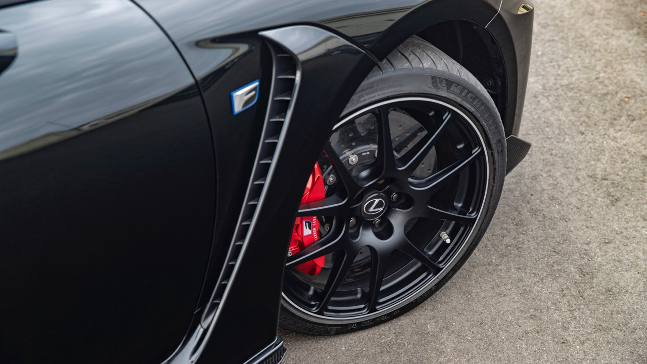 2019 Lexus RC F Track Edition BBS wheels