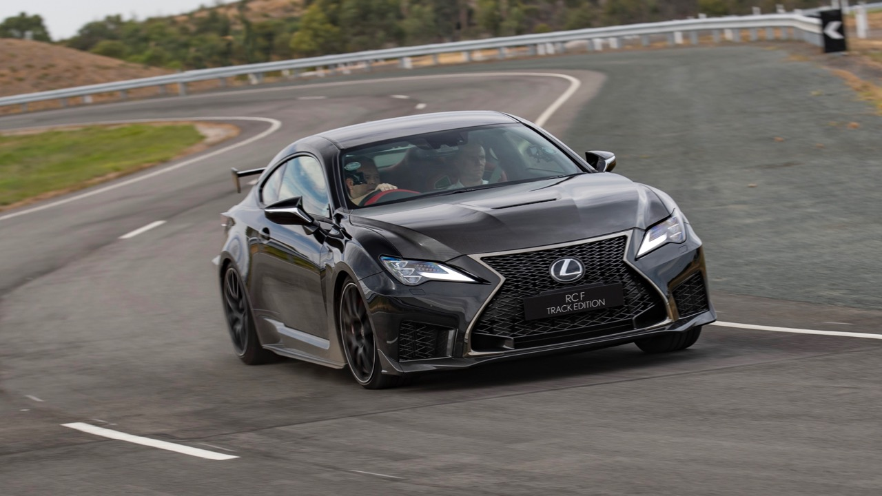 2019 Lexus RC F Track Edition front