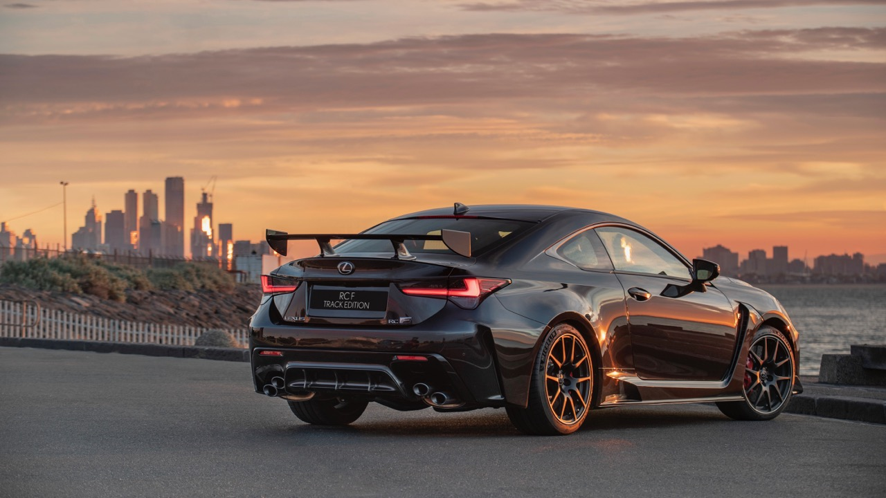 2019 Lexus RC F Track Edition rear