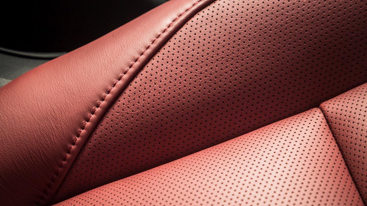2019 Mazda 3 G25 Astina red leather interior
