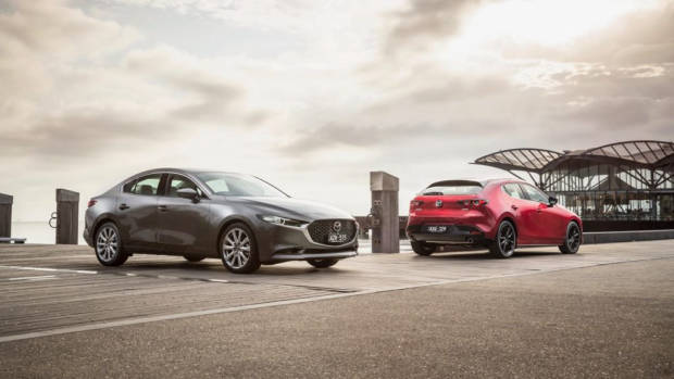 2019 Mazda 3 sedan and hatch
