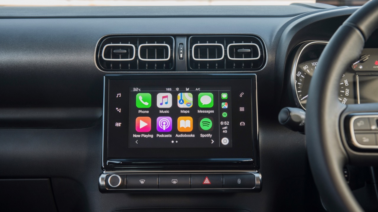 Citroen C3 Aircross 2019 Apple CarPlay