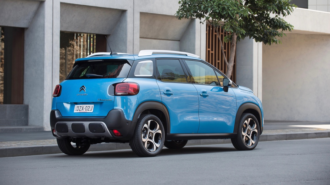 Citroen C3 Aircross 2019 blue rear