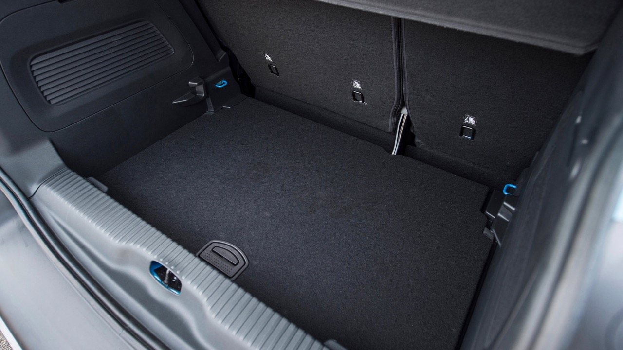 Citroen C3 Aircross 2019 boot space