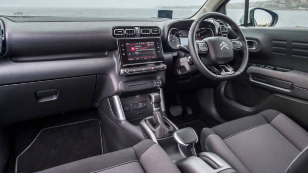 Citroen C3 Aircross 2019 interior grey