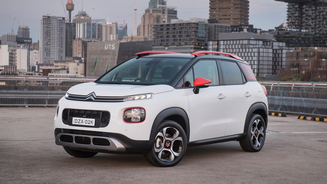 Citroen C3 Aircross 2019 white front