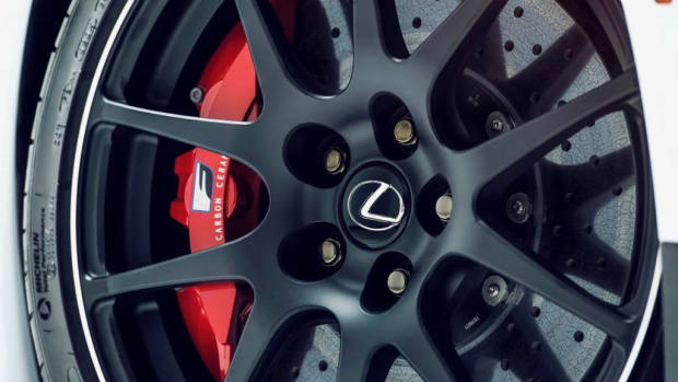 Lexus RC F Track Edition 2020 BBS wheels