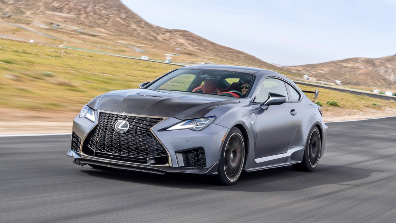 Lexus RC F Track Edition 2020 Tom Baker