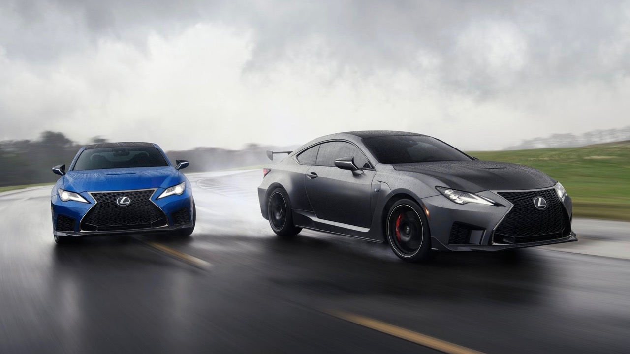 Lexus RC F Track Edition 2020 and RC F
