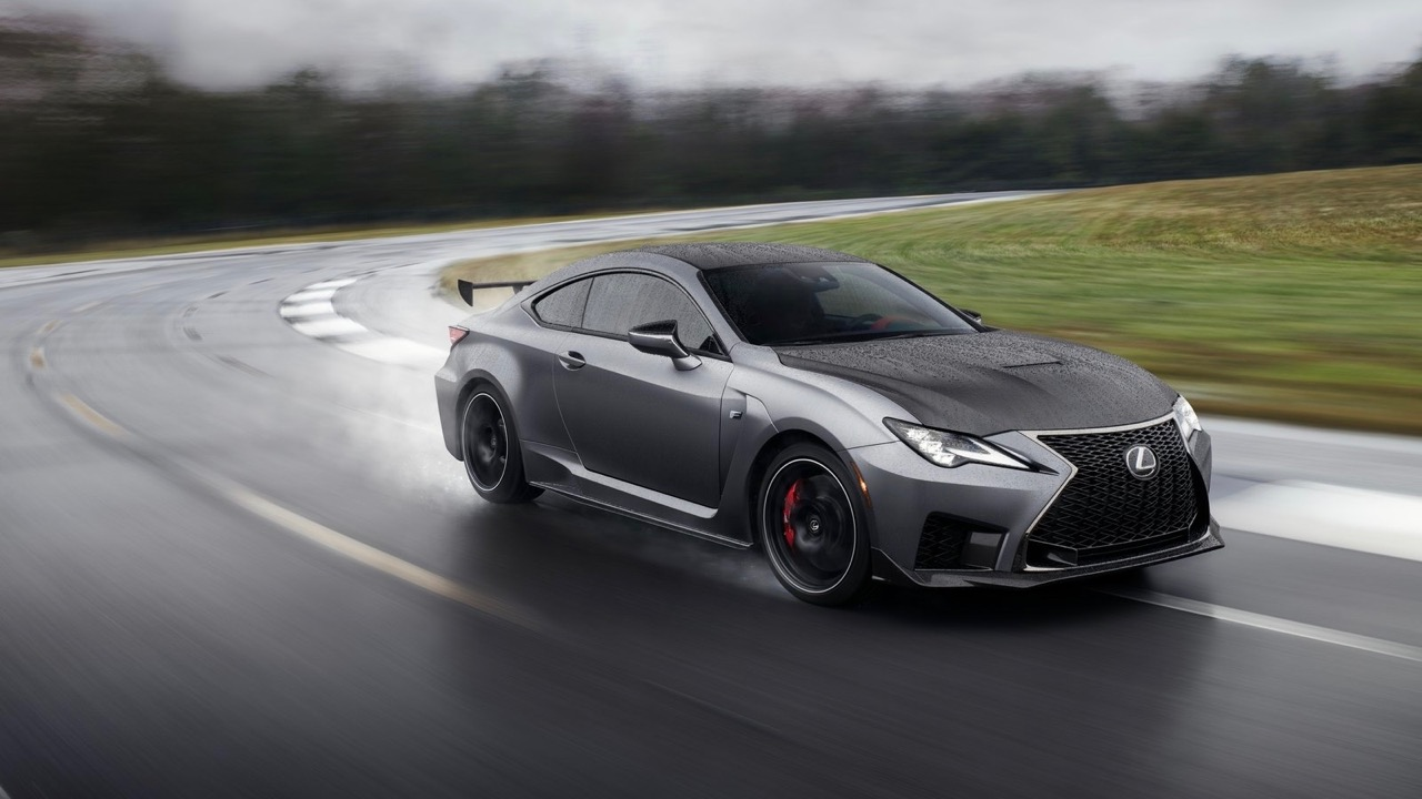 Lexus RC F Track Edition 2020 matte grey
