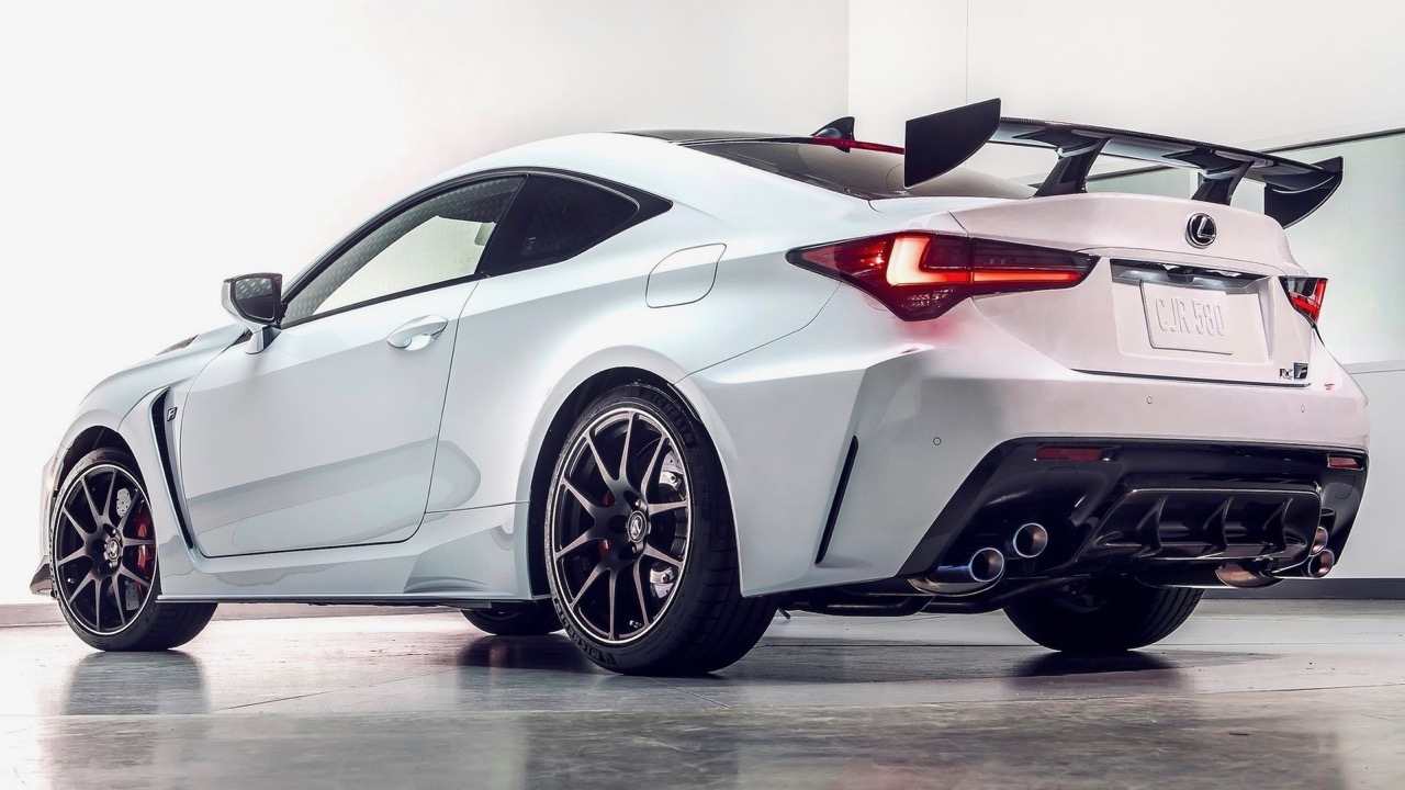 Lexus RC F Track Edition 2020 white