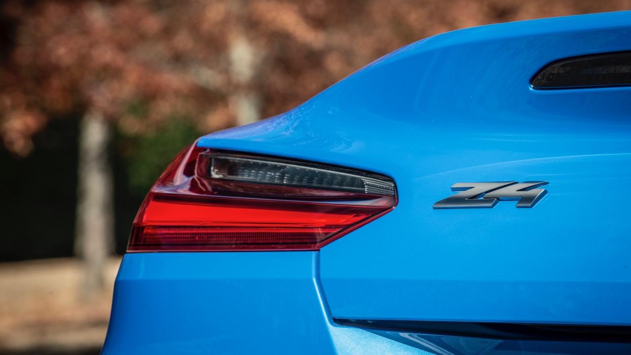 2019 BMW Z4 M40i badge