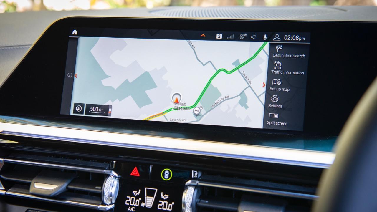 2019 BMW Z4 touchscreen