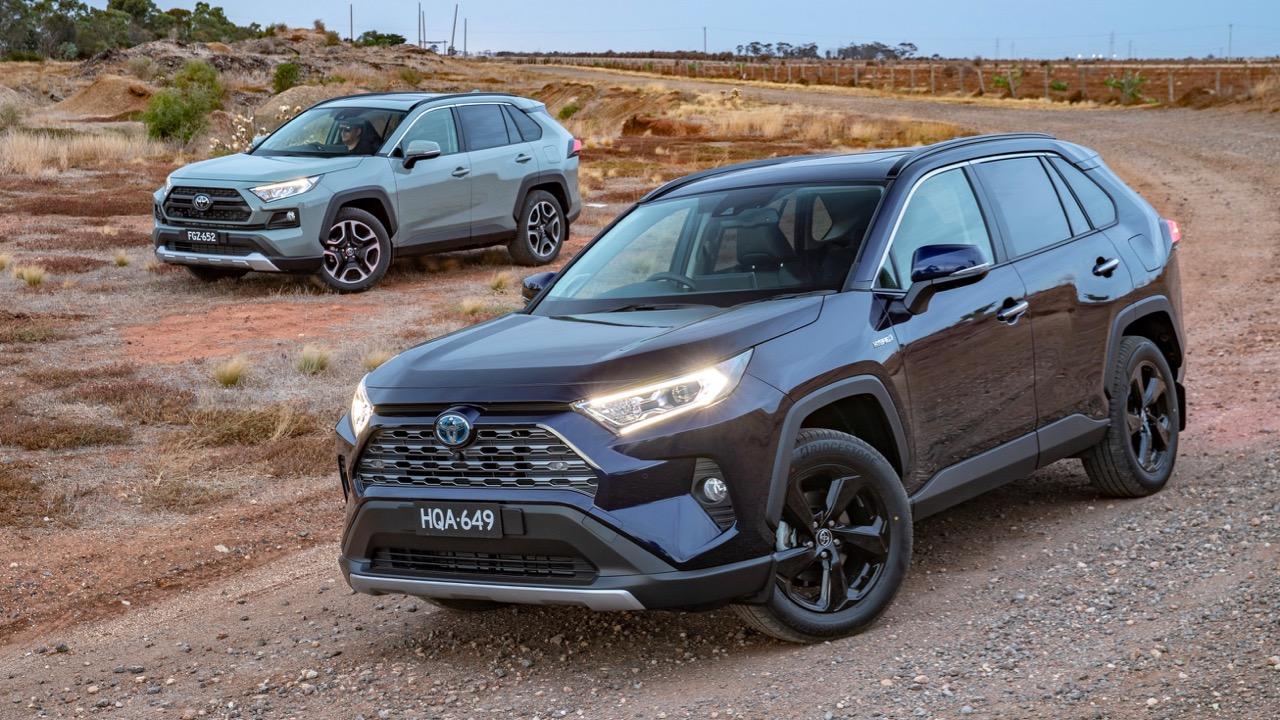 Two 2019 Toyota RAV4 SUVs