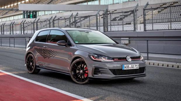 2019 Volkswagen Golf GTI TCR grey