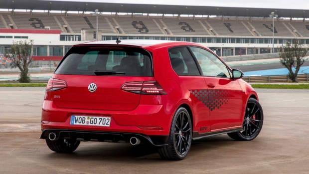 2019 Volkswagen Golf GTI TCR red