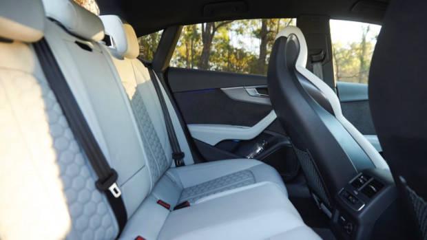 Audi RS5 Sportback 2019 grey interior