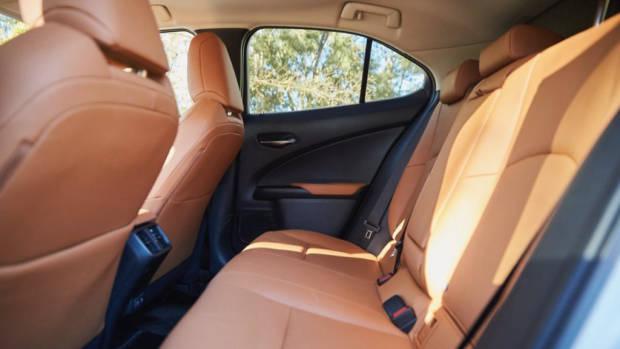 Lexus UX200 back seat space